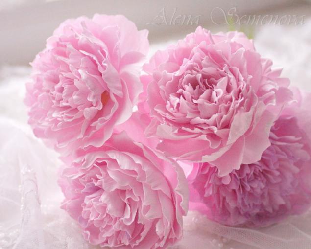 мастер-класс, роза