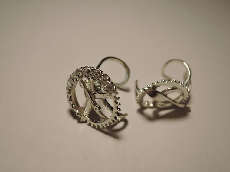 маркет, выставка, серьги, серебряные украшения