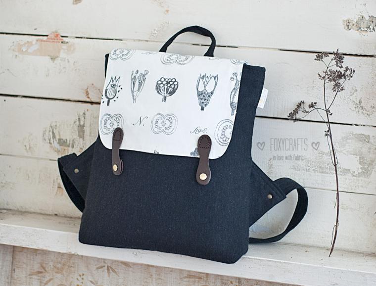 Эргономичный рюкзак как сшить мастер класс сделать #3
