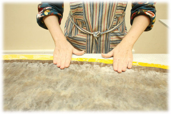 From Simple to Complex: Felting a Jacket with a Yoke, фото № 35