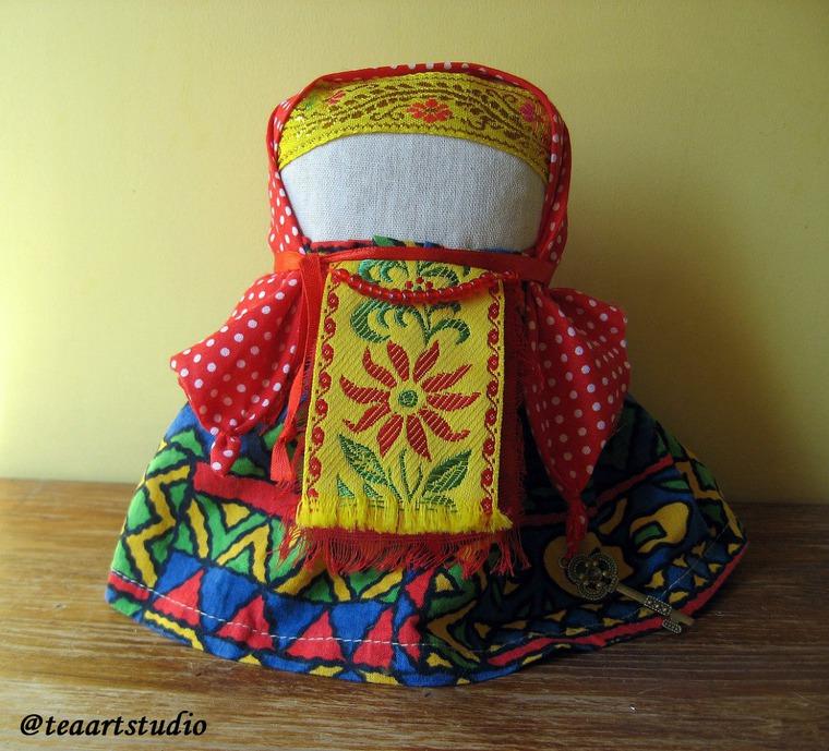 обережная кукла, традиционная кукла