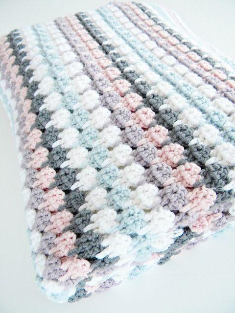 blancouleur crochet blanket