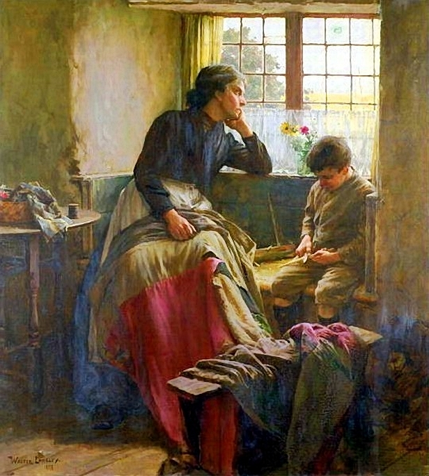 Walter Langley .Tender Grace Of A Day (616x684, 345Kb)