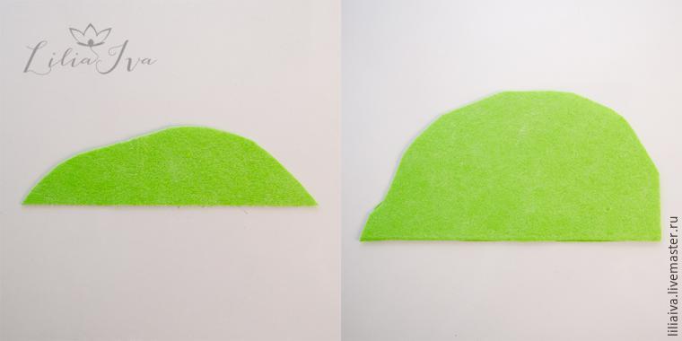 Шьем шапочку-капусту для детского капустника, фото № 7