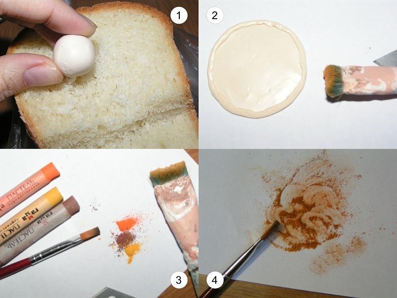 Как сделать самой глину