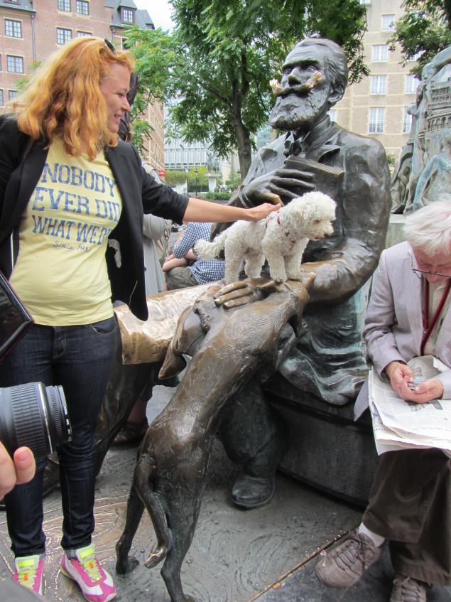 события, имевшие как лучше фотографироваться у статуи хорошо побухал