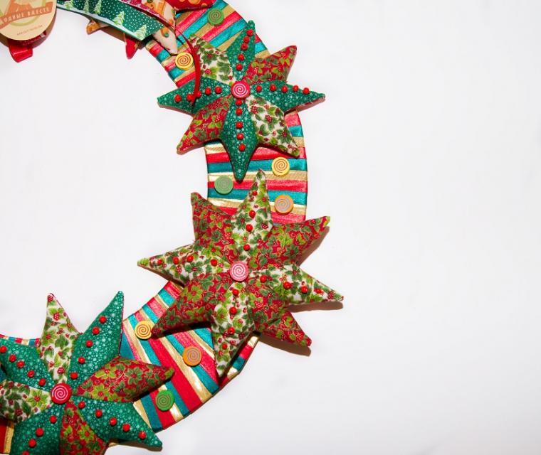 рождественская ярмарка, украшение своими руками