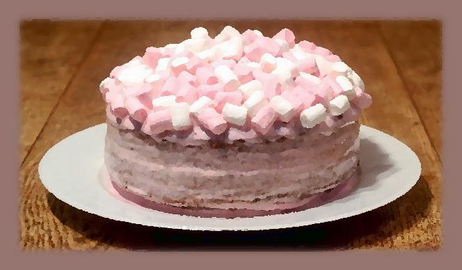 Украшения из маршмеллоу своими руками для тортов