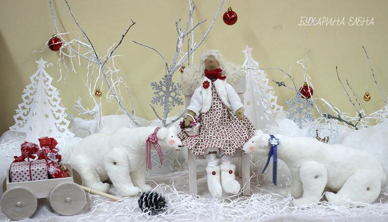 конкурс работ, мишки, кукла, творчество, сказка