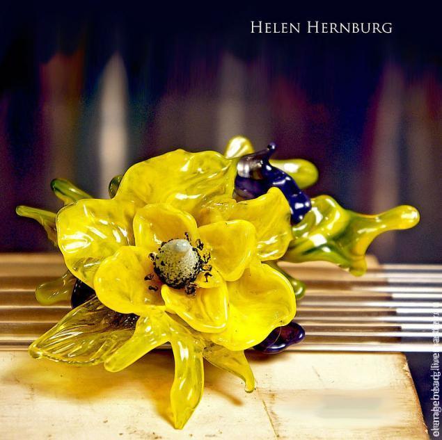 обучение лэмпворку, цветок