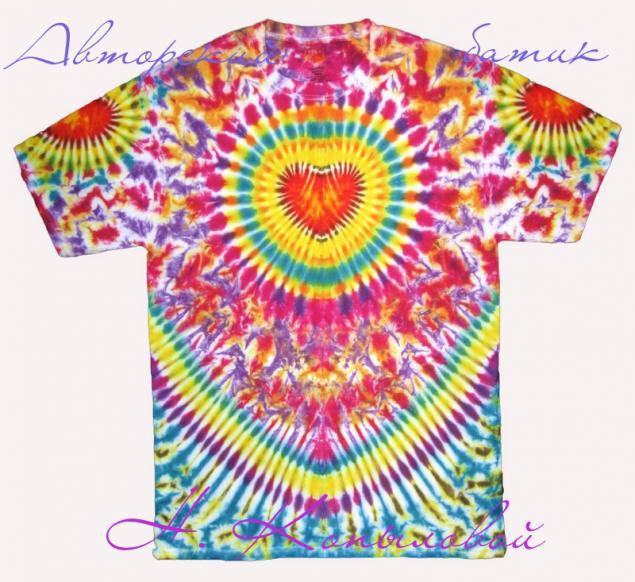 модные футболки, футболки с росписью