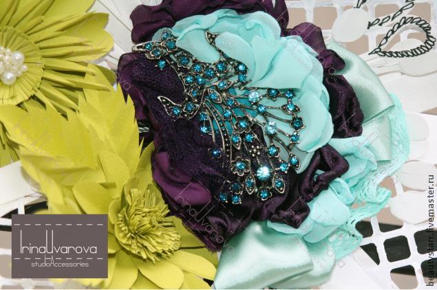 свадьба 2014, текстильное украшение