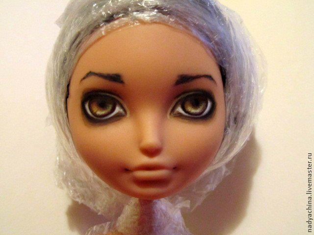 перерисовка лица куклы, фото № 11