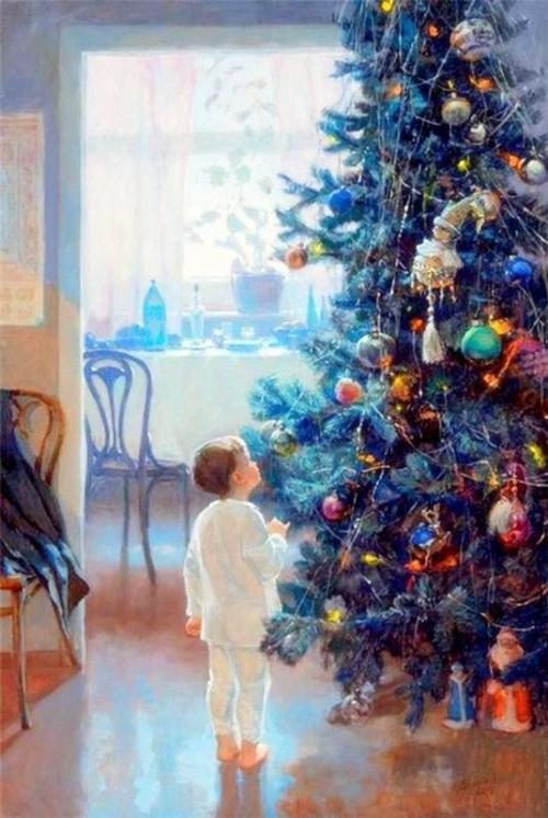 красивые зимние картины