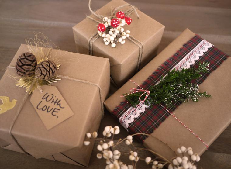 Коробки для новогоднего подарка своими руками фото