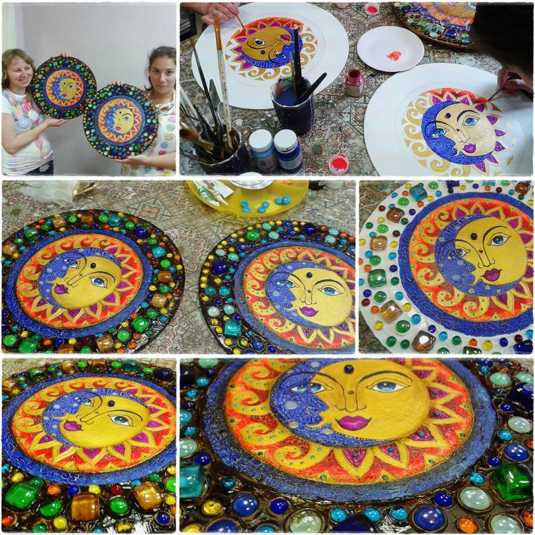 декупаж, школа, декорирование handmade