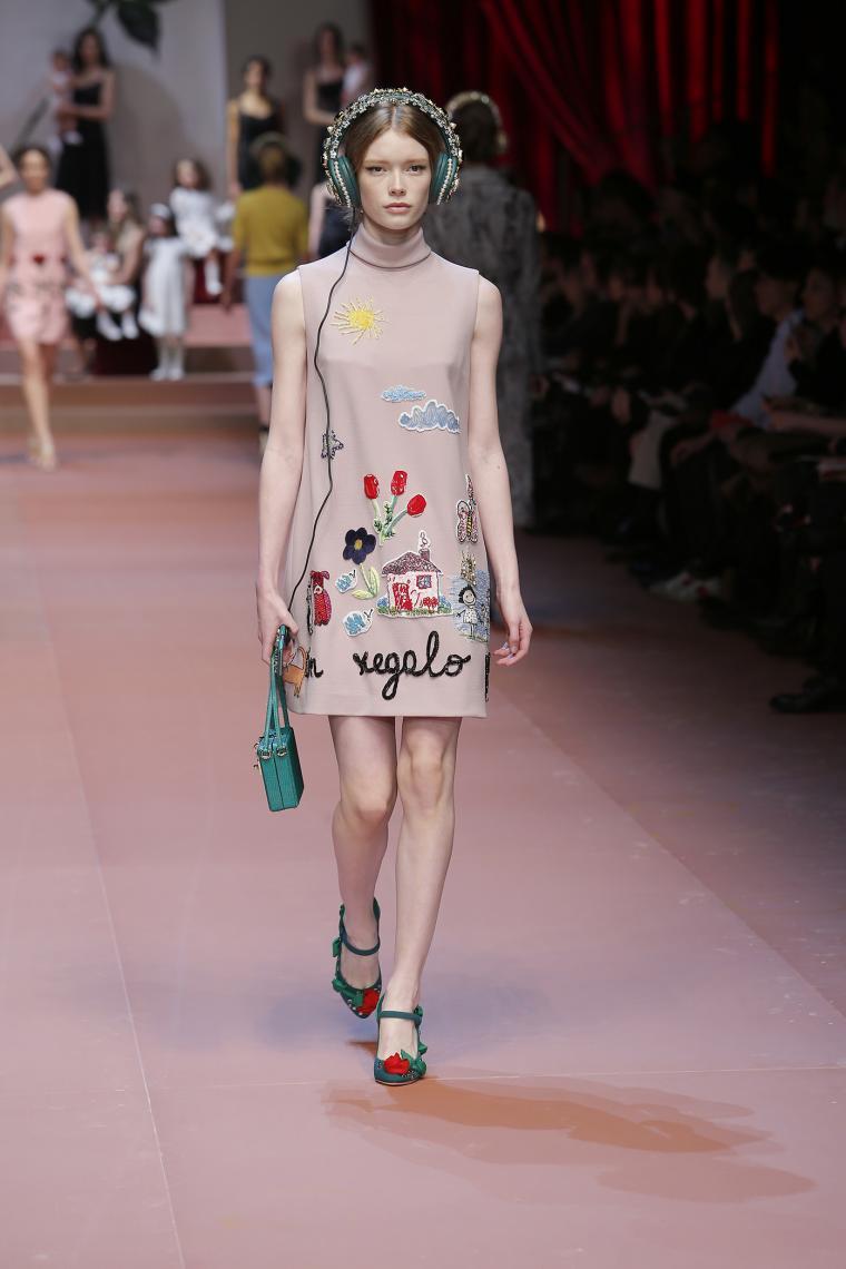 Платье dolce gabbana с совой