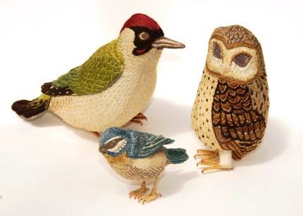 птицы, украшение интерьера