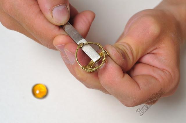 Властелин колец, или Как создать перстень из одного цельного куска проволоки, фото № 32