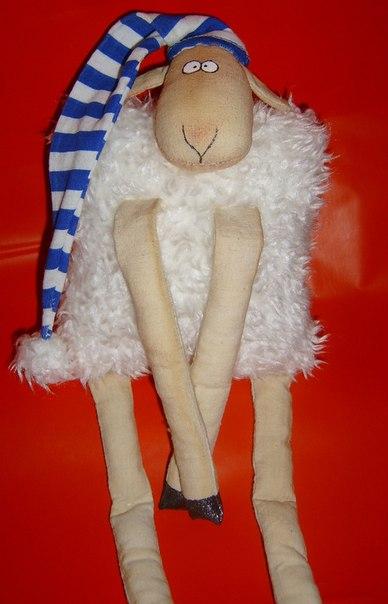 овечка, новый год 2015, год козы, год овцы, на заказ