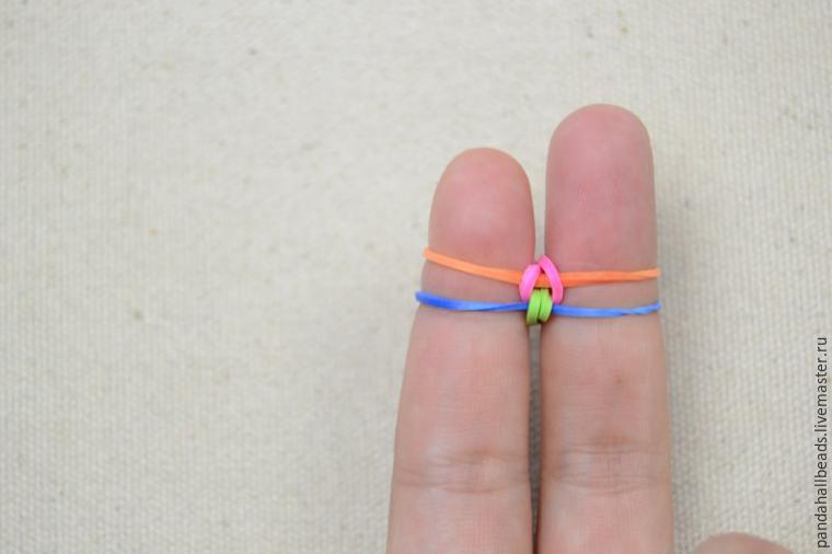 Плетения из резинок на пальцах картинки