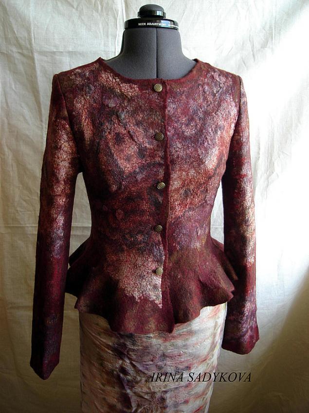 жакет, авторская одежда