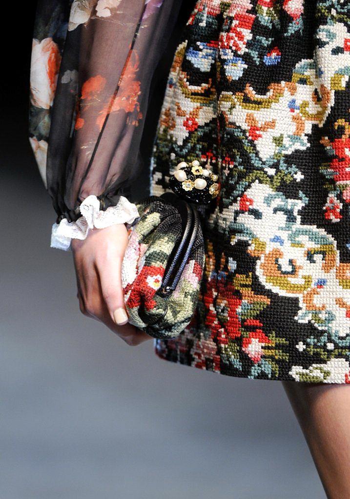 Вышивка в стиле дольче габбана своими руками мастер класс