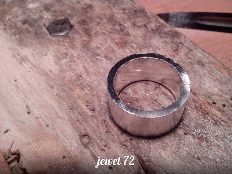 Делаем стильное кольцо из серебра, фото № 12