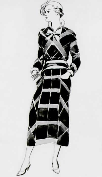 Платья шанель 1926 г