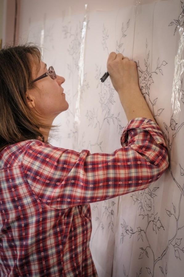 обучение росписи, строганова обучение