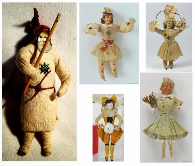 игрушки ручной работы, игрушка на елку, игрушки на елку, ватные игрушки, сергей романов, куклы