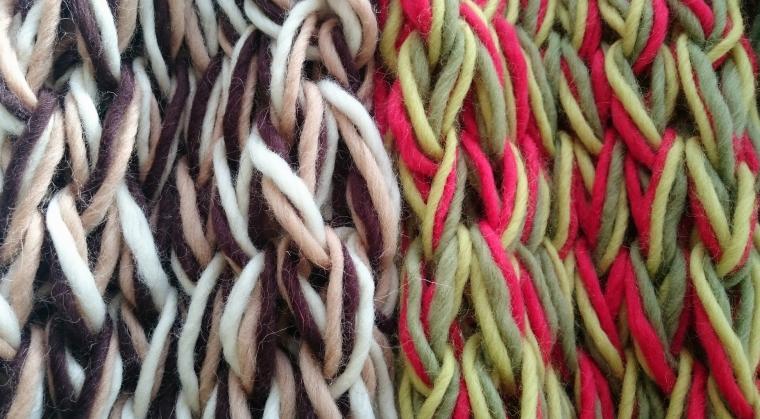 шарф своими руками, хобби, hand-made