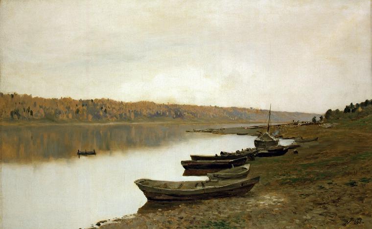 Великая река Волга в работах живописцев и фотохудожников, фото № 6