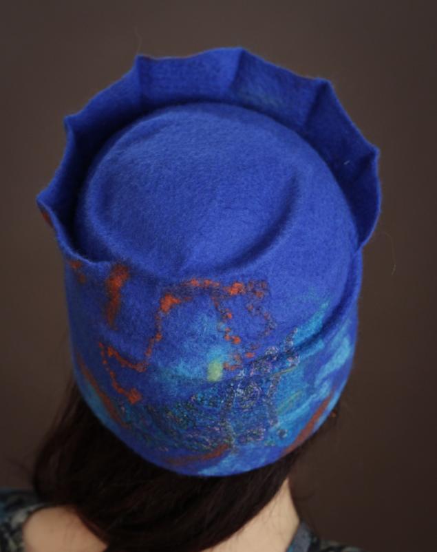 шапочка, валяние из шерсти, шкатулочка, нуно-фелтинг, запись