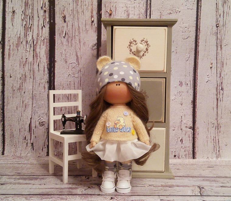 Мастер класс по текстильной кукле - Ярмарка Мастеров - ручная работа, handmade