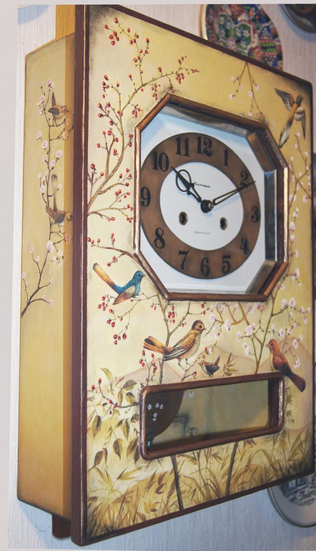 Декор старых часов своими руками 62