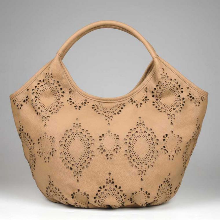 сумка с перфорацией своими руками