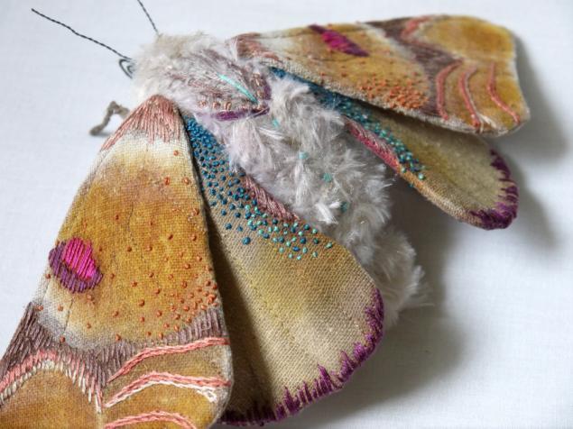 Дивные текстильные насекомые от мастера Yumi Okita, фото № 12