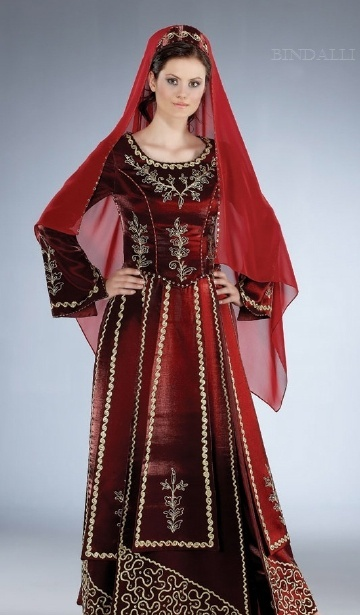 Turkish Bindalli (ethnic dress)