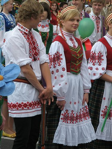 Traditional costume, Minsk
