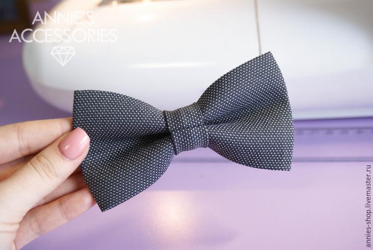 Как сшить галстук-бабочку в 10 простых шагов