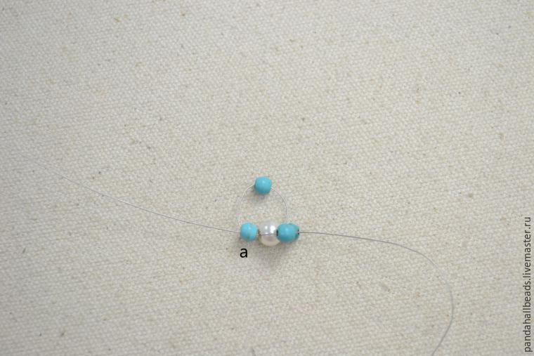 Делаем летний браслет из бусин - Ярмарка Мастеров - ручная работа, handmade