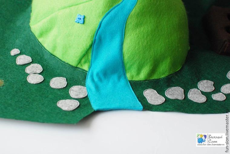 Шьем яркий и реалистичный игровой коврик из фетра, фото № 37