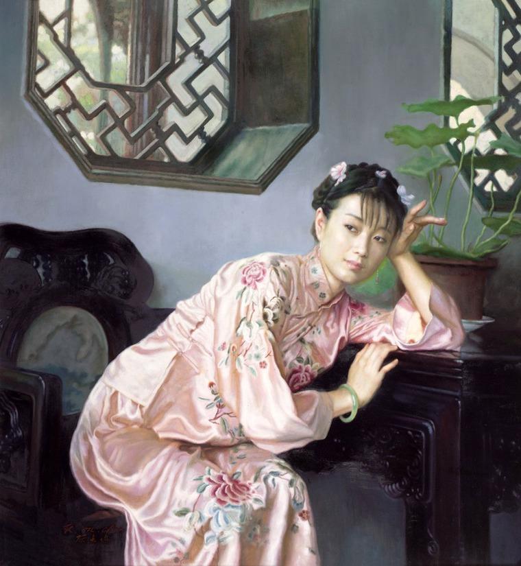 праву фото картин китайских художников этом
