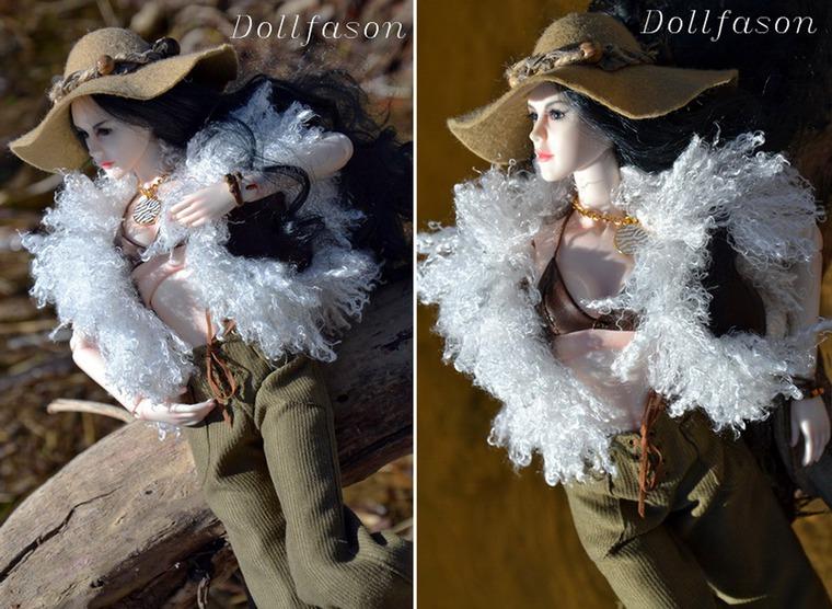 платье для куклы бжд