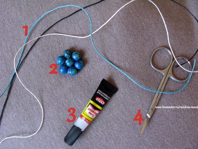 Как сделать браслет шамбала