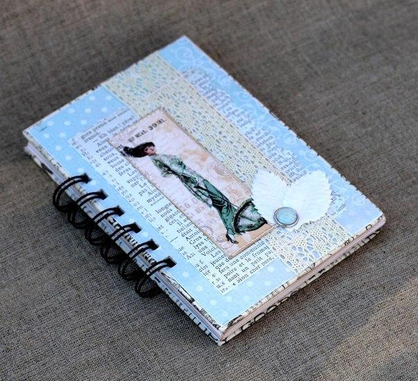блокноты, винтажный стиль