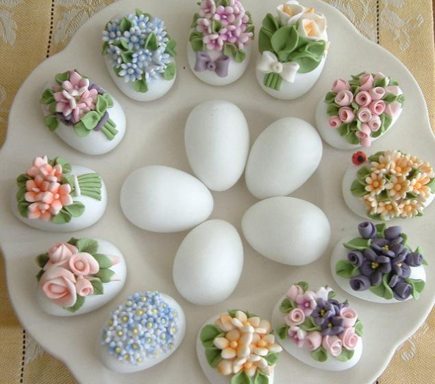 Съедобные яйца на пасху