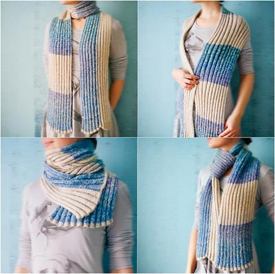 шарфы вязаные