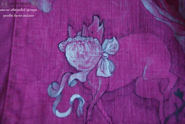 розовый, платье обманка